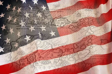 American Flag  Stock Photo - 7515783