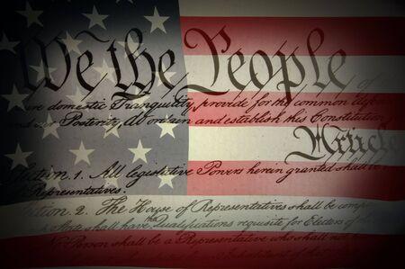 constitution: American Flag