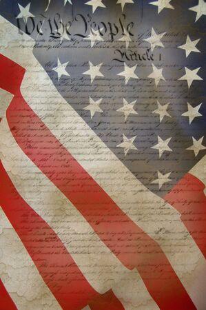 constitucion: Bandera estadounidense