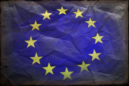 gewerkschaft: Europ�ischen Union Flag  Lizenzfreie Bilder