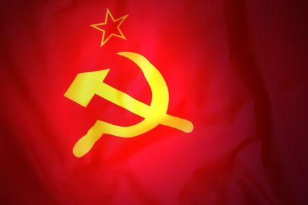 Soviet Flag  Stock Photo - 7532005
