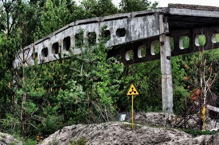 Lost city.Near Chernobyl area.Kiev region,Ukraine Stock Photo - 7532309