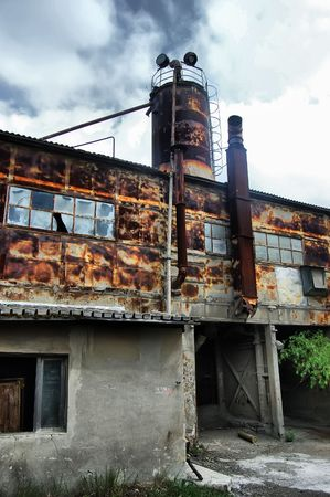 Lost city.Near Chernobyl area.Kiev region,Ukraine Stock Photo - 7532120