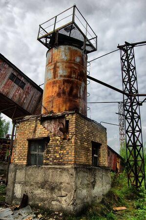 Lost city.Near Chernobyl area.Kiev region,Ukraine Stock Photo - 7532293