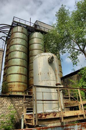 Lost city.Near Chernobyl area.Kiev region,Ukraine Stock Photo - 7532290