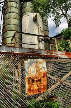 Lost city.Near Chernobyl area.Kiev region,Ukraine Stock Photo - 7527617