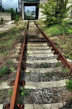 Lost city.Near Chernobyl area.Kiev region,Ukraine Stock Photo - 7527561
