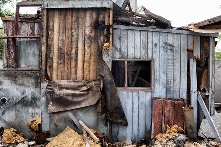 Lost city.Near Chernobyl area.Kiev region,Ukraine Stock Photo - 7532289