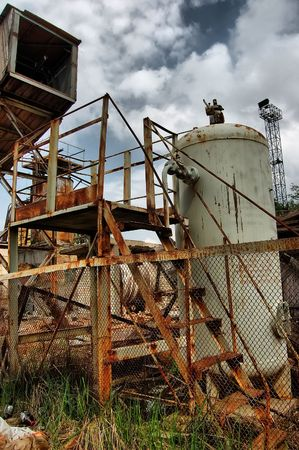 Lost city.Near Chernobyl area.Kiev region,Ukraine  Stock Photo - 7527621