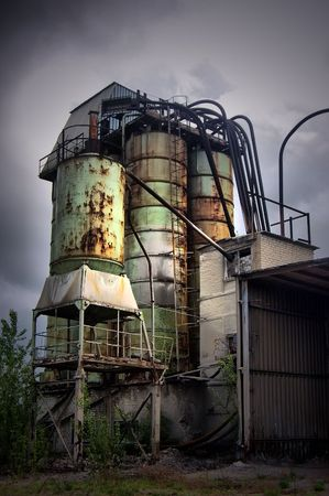 Lost city.Near Chernobyl area.Kiev region,Ukraine Stock Photo - 7532072