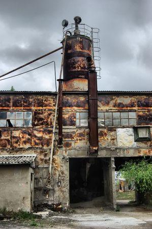 Lost city.Near Chernobyl area.Kiev region,Ukraine Stock Photo - 7532131