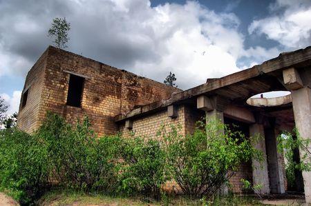 Lost city.Near Chernobyl area.Kiev region,Ukraine Stock Photo - 7532292
