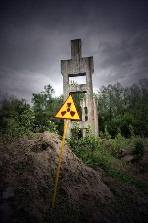 Lost city.Near Chernobyl area.Kiev region,Ukraine Stock Photo - 7532077