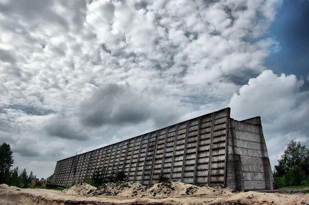 Lost city.Near Chernobyl area.Kiev region,Ukraine Stock Photo - 7532065