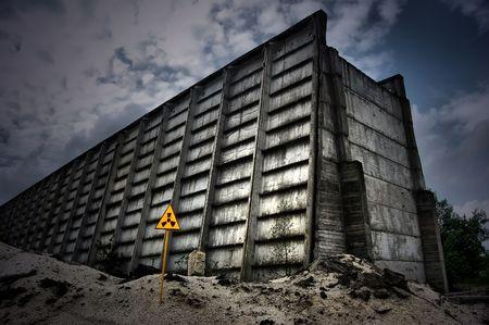 Verlorene city.Near Chernobyl area.Kiev Region, Ukraine