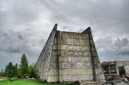 Lost city.Near Chernobyl area.Kiev region,Ukraine Stock Photo - 7532071