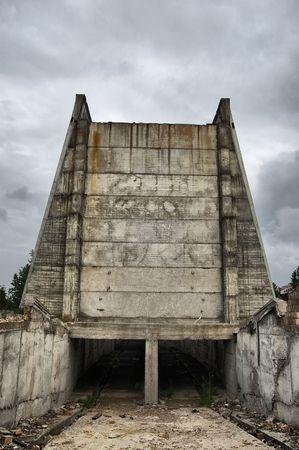 Lost city.Near Chernobyl area.Kiev region,Ukraine Stock Photo - 7532135