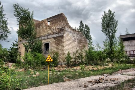 Lost city.Near Chernobyl area.Kiev region,Ukraine Stock Photo - 7527610