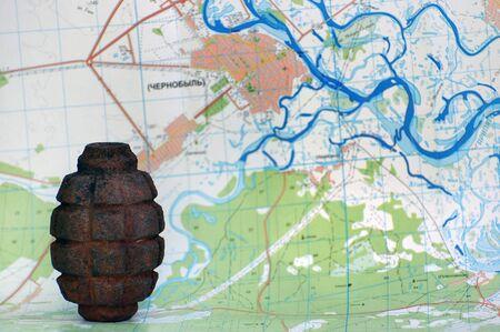 chernobyl: grenade and Chernobyl map