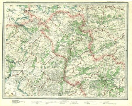 Old map Stock Photo - 7526483