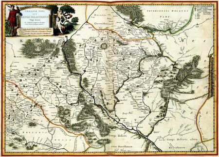 Old map Stock Photo - 7526482