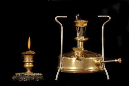 encendedores: Arqueolog�a como elementos de origen ruso de hobby.Old