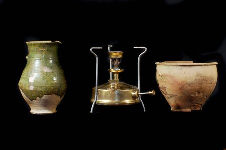 primus: Archeology as hobby.Old Russian home items