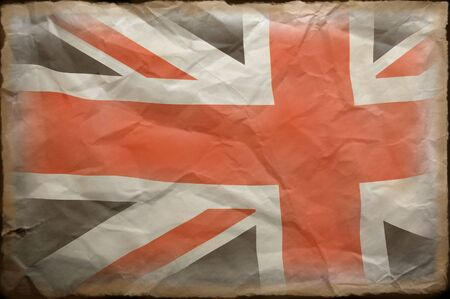 British Flag grunge  photo