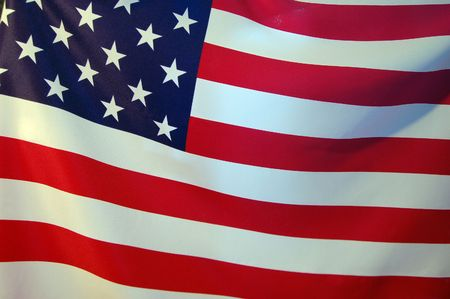American Flag Stock Photo - 7605202