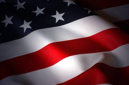estrellas  de militares: Bandera estadounidense