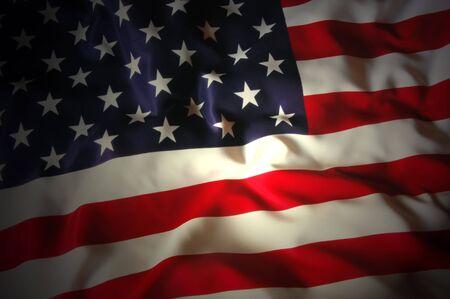 アメリカの国旗 写真素材 - 7697395