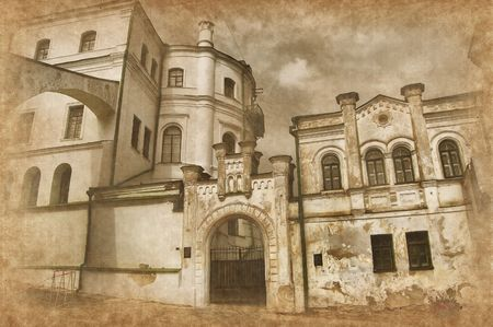 monasteries: Kiev-Pechersk Lavra monastery in Kiev. Ukraine (Malorussia)  Stock Photo