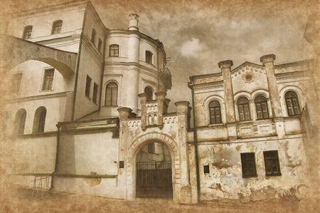 monasteri: Monastero di Kiev-Pechersk Lavra di Kiev. Ucraina (Malorussia)  Archivio Fotografico