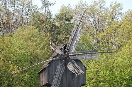 Old windmill. Ukraine Stock Photo - 7697778