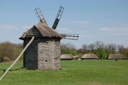 Old windmill. Ukraine Stock Photo - 7697528