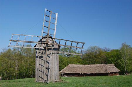 Old windmill. Ukraine Stock Photo - 7697610