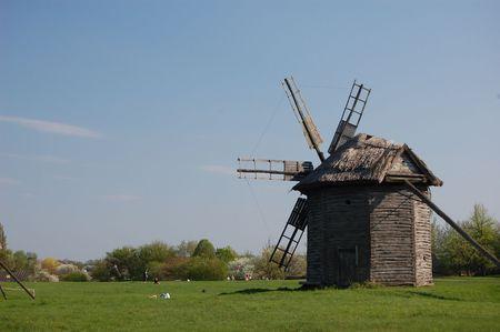 Old windmill. Ukraine Stock Photo - 7697465