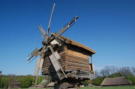 Old windmill. Ukraine Stock Photo - 7697556