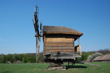 Old windmill. Ukraine  Stock Photo - 7697532