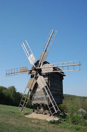 Old windmill. Ukraine Stock Photo - 7697580