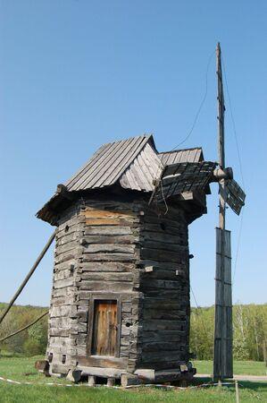 Old windmill. Ukraine Stock Photo - 7697579