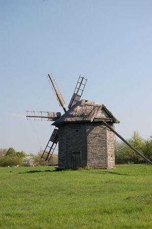 Old windmill. Ukraine  photo