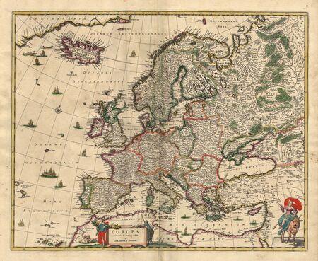 古い地図 写真素材 - 7697811