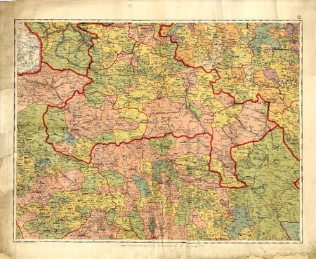 Old map Stock Photo - 7697824