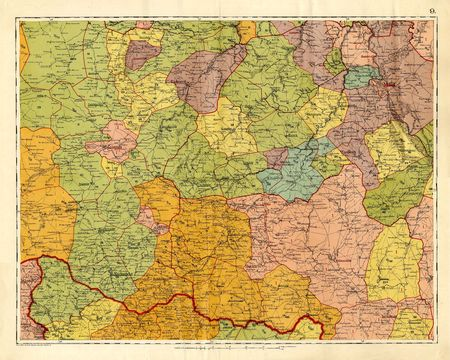 Old map photo
