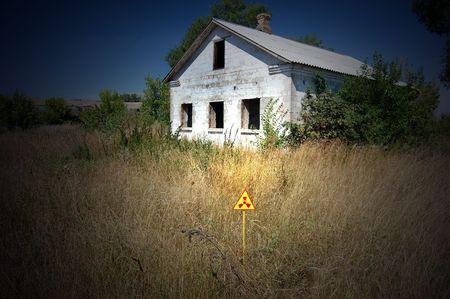 Lost city.Near Chernobyl area.Kiev region,Ukraine Stock Photo - 7706485