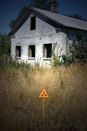 Lost city.Near Chernobyl area.Kiev region,Ukraine Stock Photo - 7706490