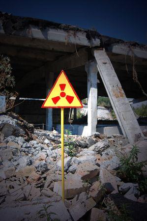 Lost city.Near Chernobyl area.Kiev region,Ukraine Stock Photo - 7706098