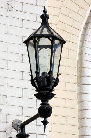 brass lamps: Street lantern Stock Photo