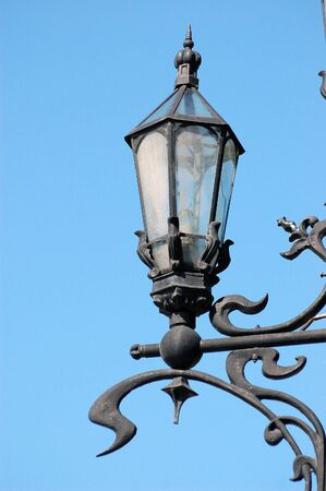 lamp posts: Street lantern Stock Photo